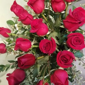 18 Long Stem Red Roses
